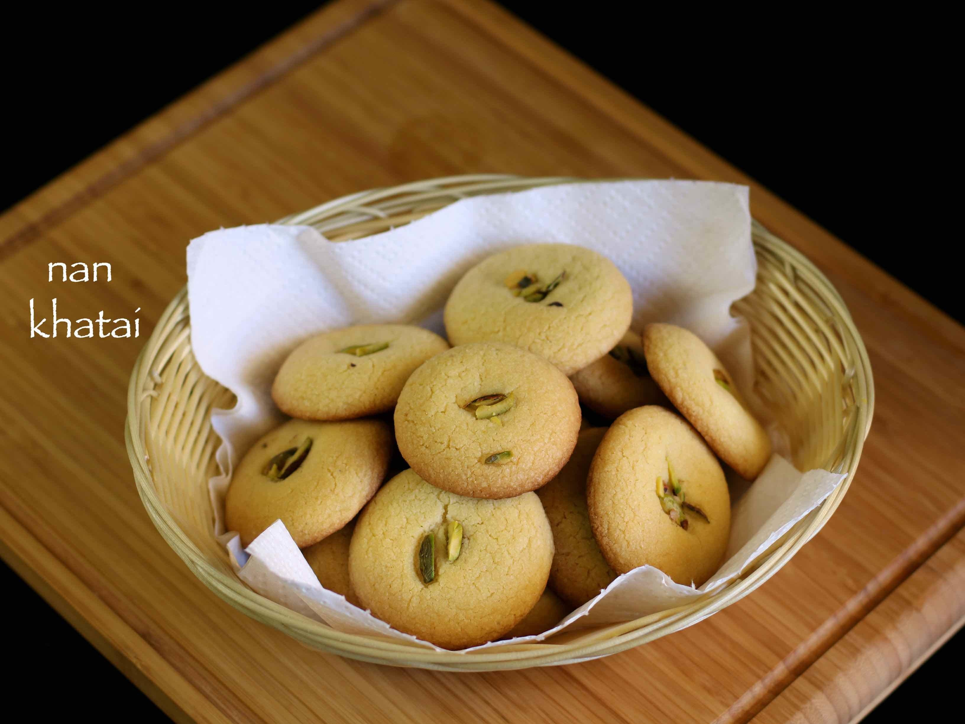 nankhatai recipe | nan khatai biscuits recipe | indian cookies recipe