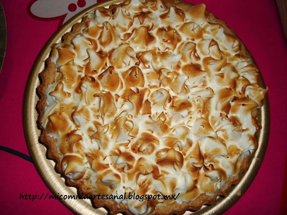 Lemon pie (pay de limón).