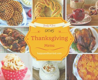 Thanksgiving Menu Roundup