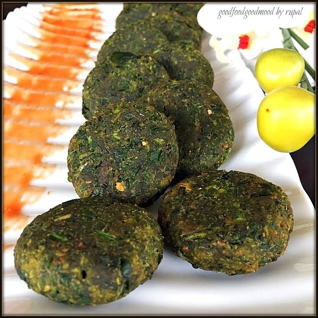 Bread Spinach Kabab