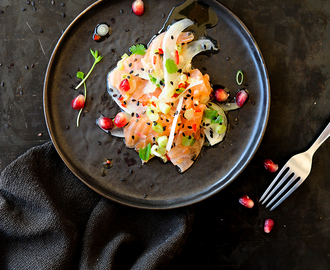 Oosterse ceviche met zalm