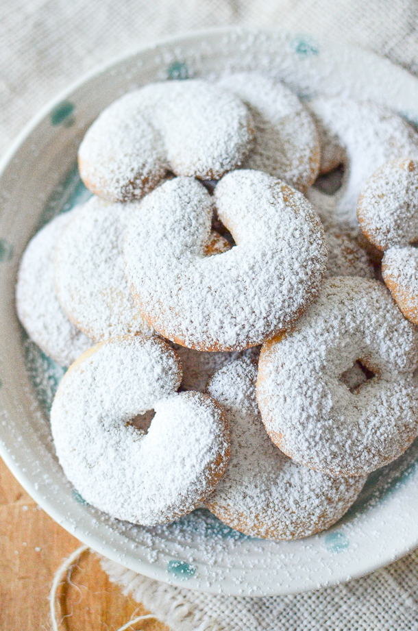 Almond Crescents + Cookies for Kids Cancer