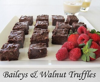 Decadent Delights – Baileys & Walnut Truffles (Thermomix)