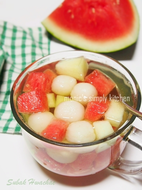 Subak Hwachae (Korean Watermelon Punch)