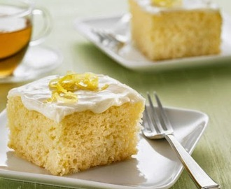 Lemon Snack Cake  - with variations
