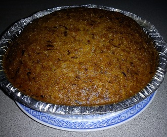 STEAMED BANANA CAKE