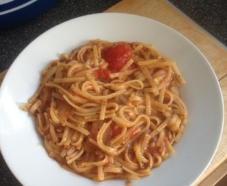 Amazing speedy one pot pasta dinner (slimming world friendly )