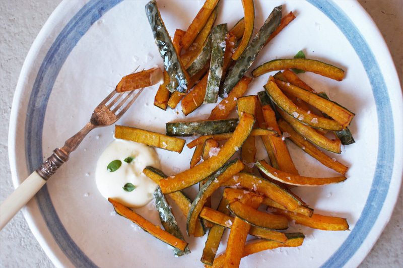 lifeisazoobiscuit wrote a new post, easy low-carb pumpkin skin chips with basil mayo, on the site lifeisazoobiscuit