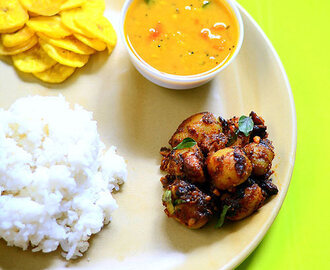 Baby Potato Fry (Small Potato Curry) Recipe