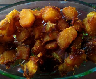 Sweet Potato in Jaggery Syrup