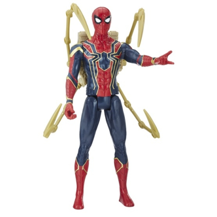 Hasbro Marvel Avengers, Titan Power Pack Hero Spiderman 30 cm