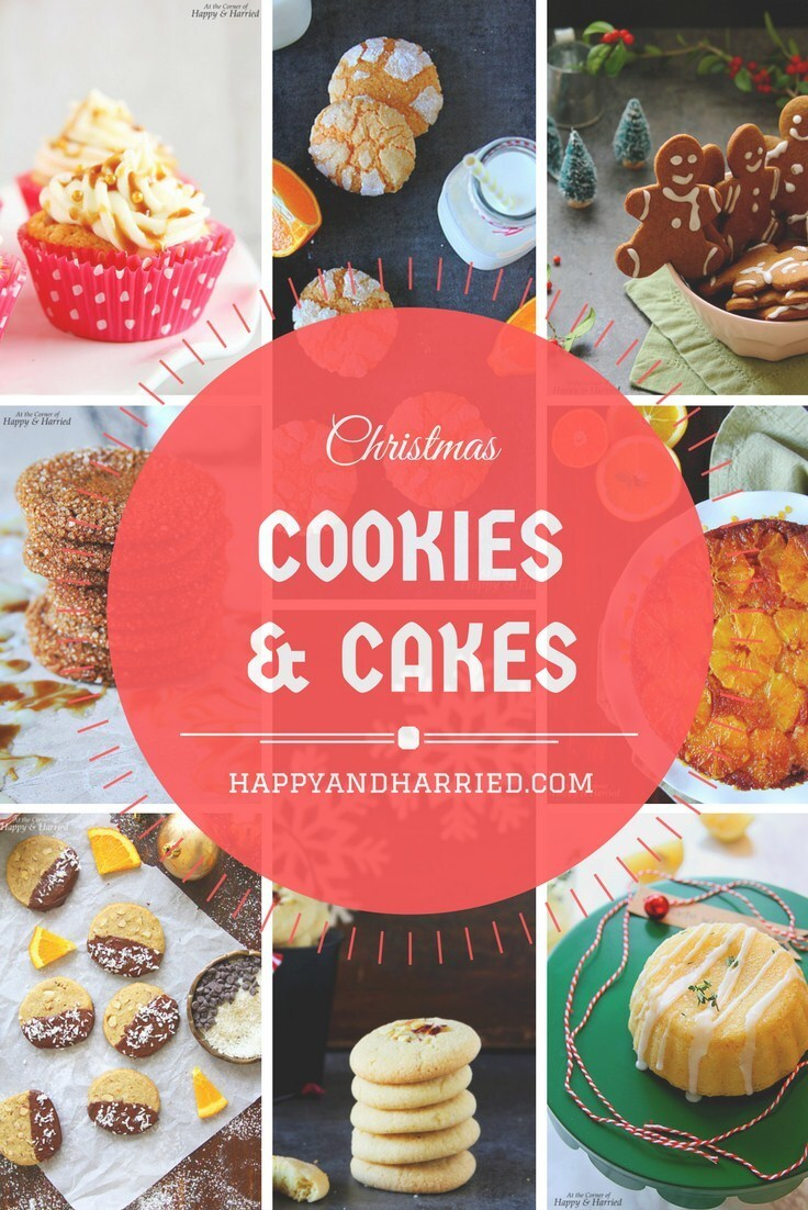20 Christmas Cakes & Cookies – A Recipe Roundup