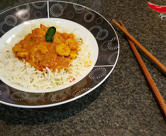 Prawns Curry with Rice