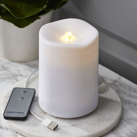 Vattenfast LED-ljus Water Candle