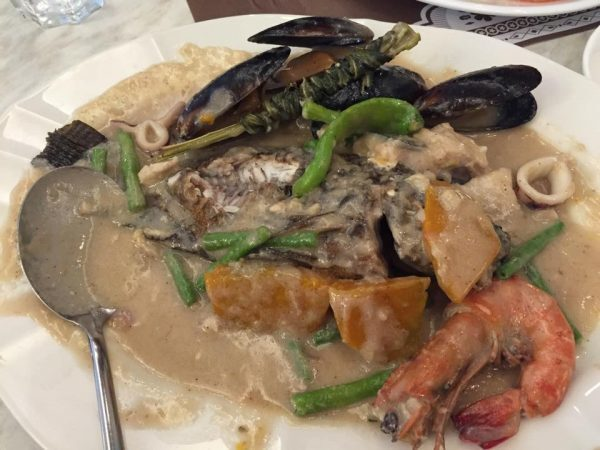 Seafood in Coconut Milk