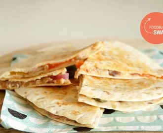 Foodblogswap: Tuna melt quesadilla's