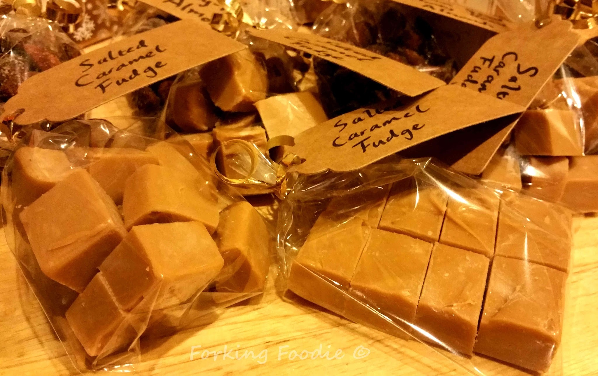 Salted Caramel Fudge (for the Thermomix)