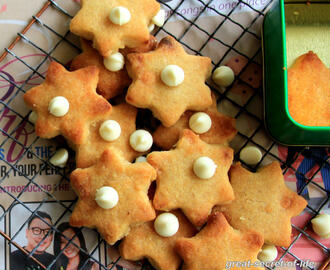 White chocolate chip cookies Recipe -  Eggless White chocolate chip cookies - Cookies Recipe - Simple baking recipes