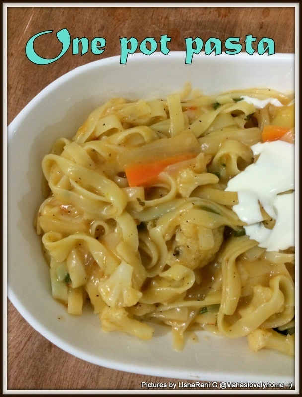 Vegetable One Pot Pasta | Tasty One Pot Pasta | One Pot Vegetable Pasta | Quick And Easy Pasta Recipes | Easy Pasta Recipes For Dinner