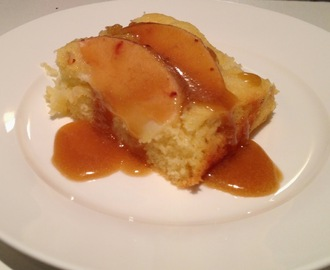 #94: Warm Apple Cake with Brandy Butterscotch Sauce