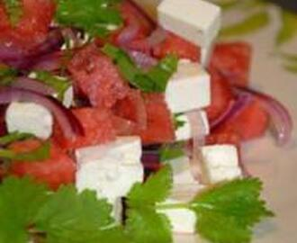 KATARZYNA'S WATERMELON AND FETA SALAD