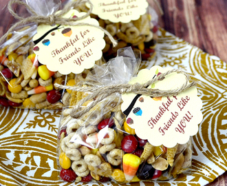 Candy Corn Salty Sweet Snack Mix