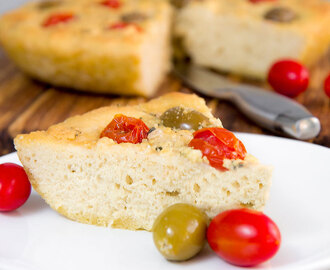 FOCACCIA BREAD LOCATELLI: quick and easy Italian flatbread!