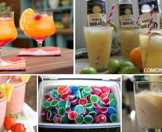 5 Receitas de Drinks