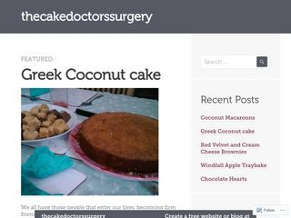 thecakedoctorssurgery