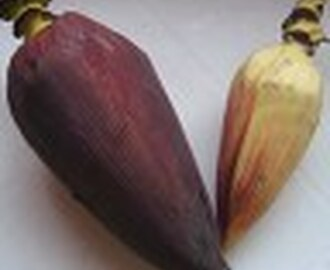Banana Flower Preparation-Cleaning Banana Flower