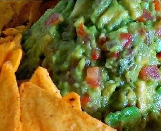Guacamole (Mexicaanse avocado spread)