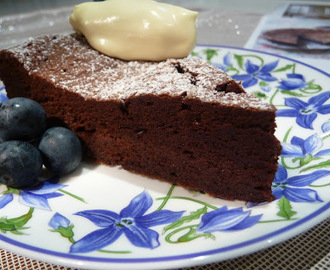 Parisian Amour Flourless Chocolate cake