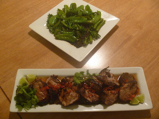 Barbecued Pork Fillet with Vietnamese Caramel Sauce