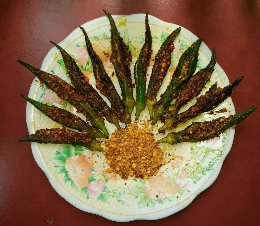 Ladies Finger Masala ( Bhindi Masala )