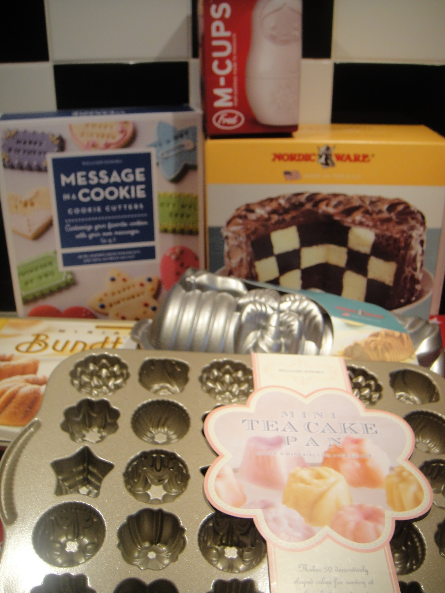 Baking goodies from America