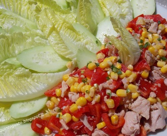 Insalata di tonno light