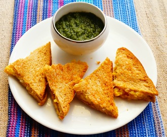 Recipe of leftover moong dal Toast