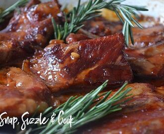 Snap, Sizzle & Cook wrote a new post, Sweet Sticky Ribs, on the site Snap, Sizzle & Cook