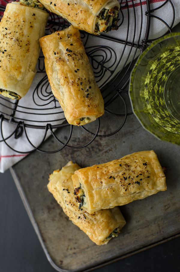 Feta Ricotta Spinach Rolls with Video