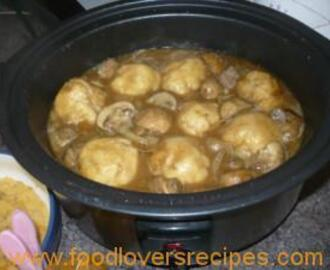 DURBAN CURRY BRAISED BEEF WITH DUMPLINGS