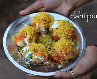 dahi puri recipe | how to make dahi batata puri recipe