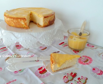 Cheesecake au lemon curd (Lemon curd cheesecake)