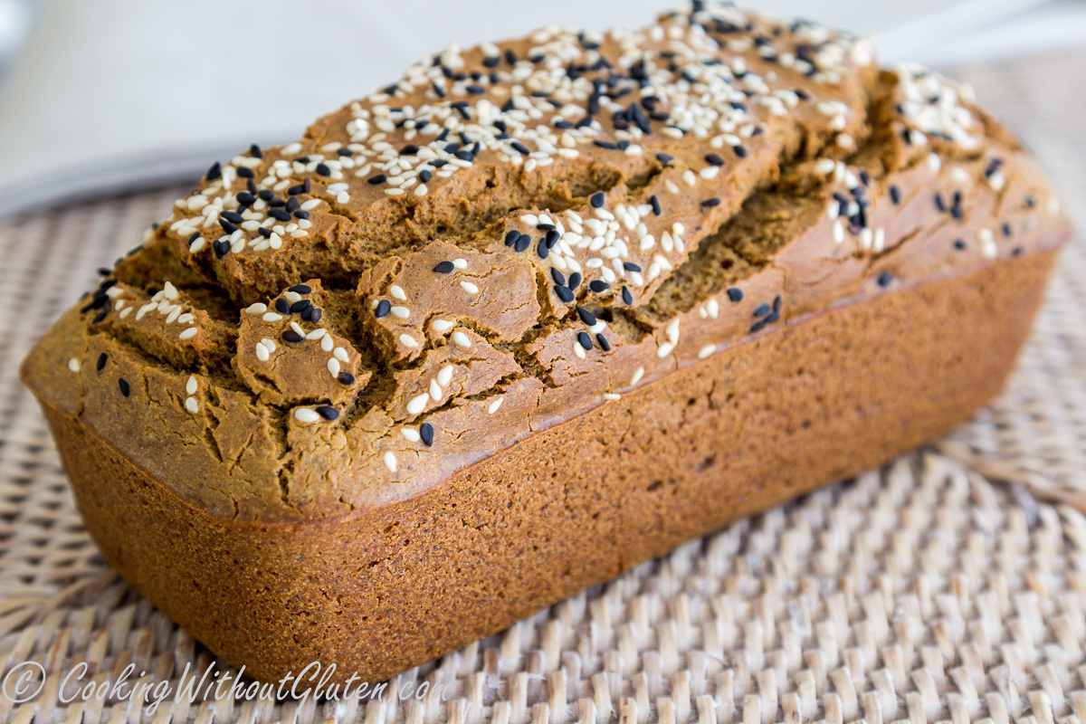 Quinoa and Buckwheat Breads – Single Flour, Grain, Starches, Dairy, Gums and Yeast Free – Guest Post