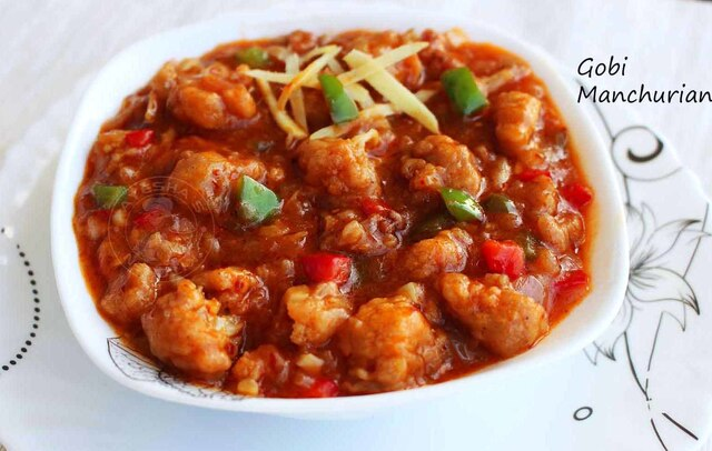 GOBI MANCHURIAN GRAVY - RECIPES WITH CAULIFLOWER