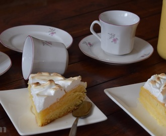 TARTA DE CREMA DE LIMÓN CON MERENGUE-LEMON PIE
