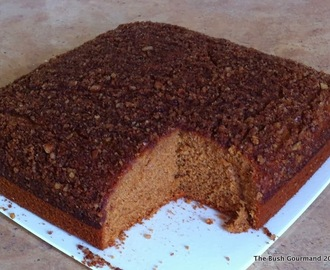 Blender Batter Coffee Cake - Wheat Free