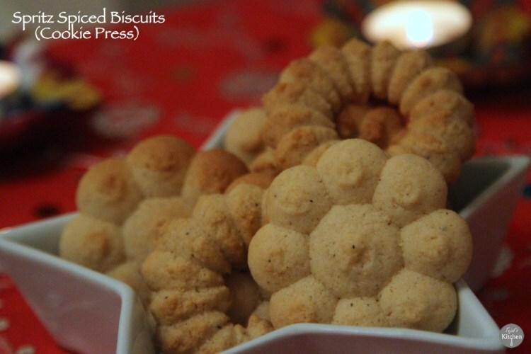 Spritz Spiced Cookies (Cookie Press)