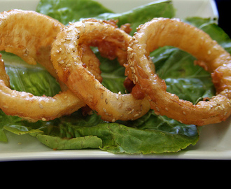 Onion Rings - Aros de Cebolla Fritos