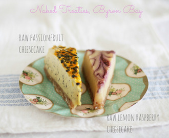 Naked Treaties (Australian made) – raw, vegan, organic, sugar, dairy & gluten free desserts