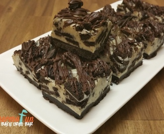 Wicked Wednesday – No Bake Oreo Bars Recipe